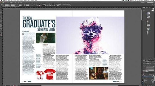 cours domicile indesign