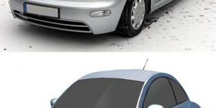 Retouche photo Photoshop voiture