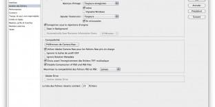 Photoshop cc cs6 enregistrement lent solution rapide mac os X