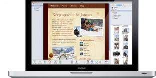 Formation création de site internet mac iWeb à domicile
