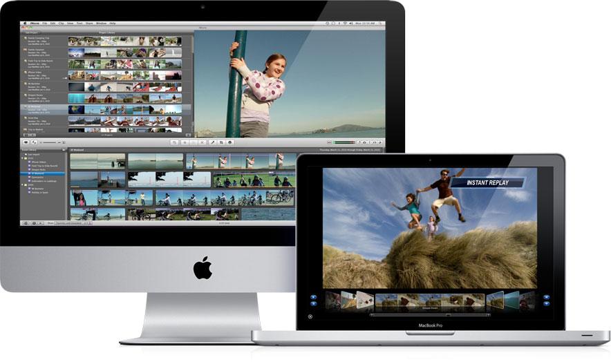 Formation montage iMovie mac cours particuliers à domicile paris