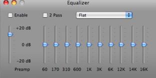 VLC Equalizer