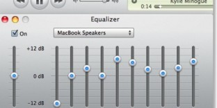 optimiser son itunes macbook egaliseur