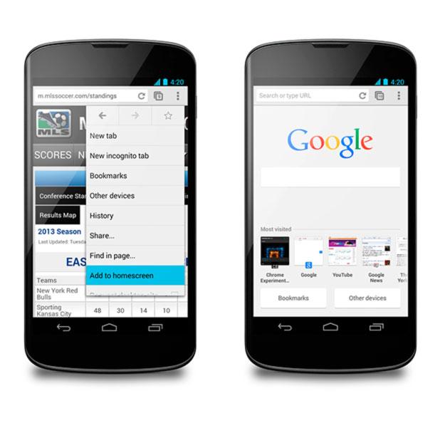 Android iphone Chrome smartphone lent solution accélérer le navigateur de Google