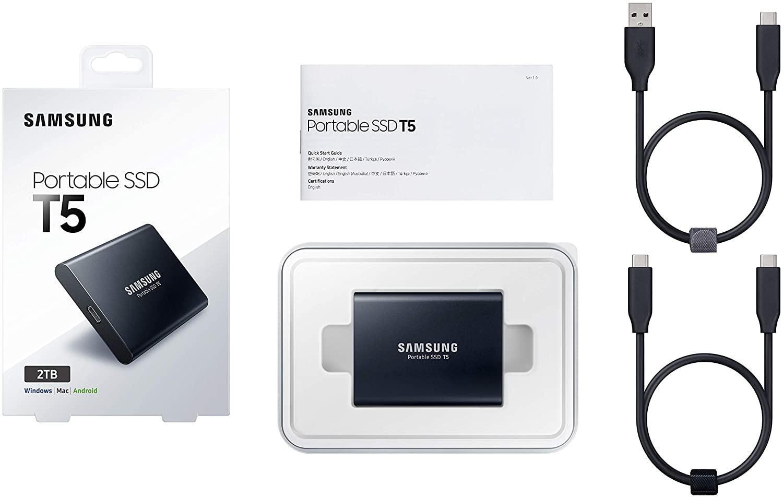 Meilleur disque ssd externe mac Samsung avis T5