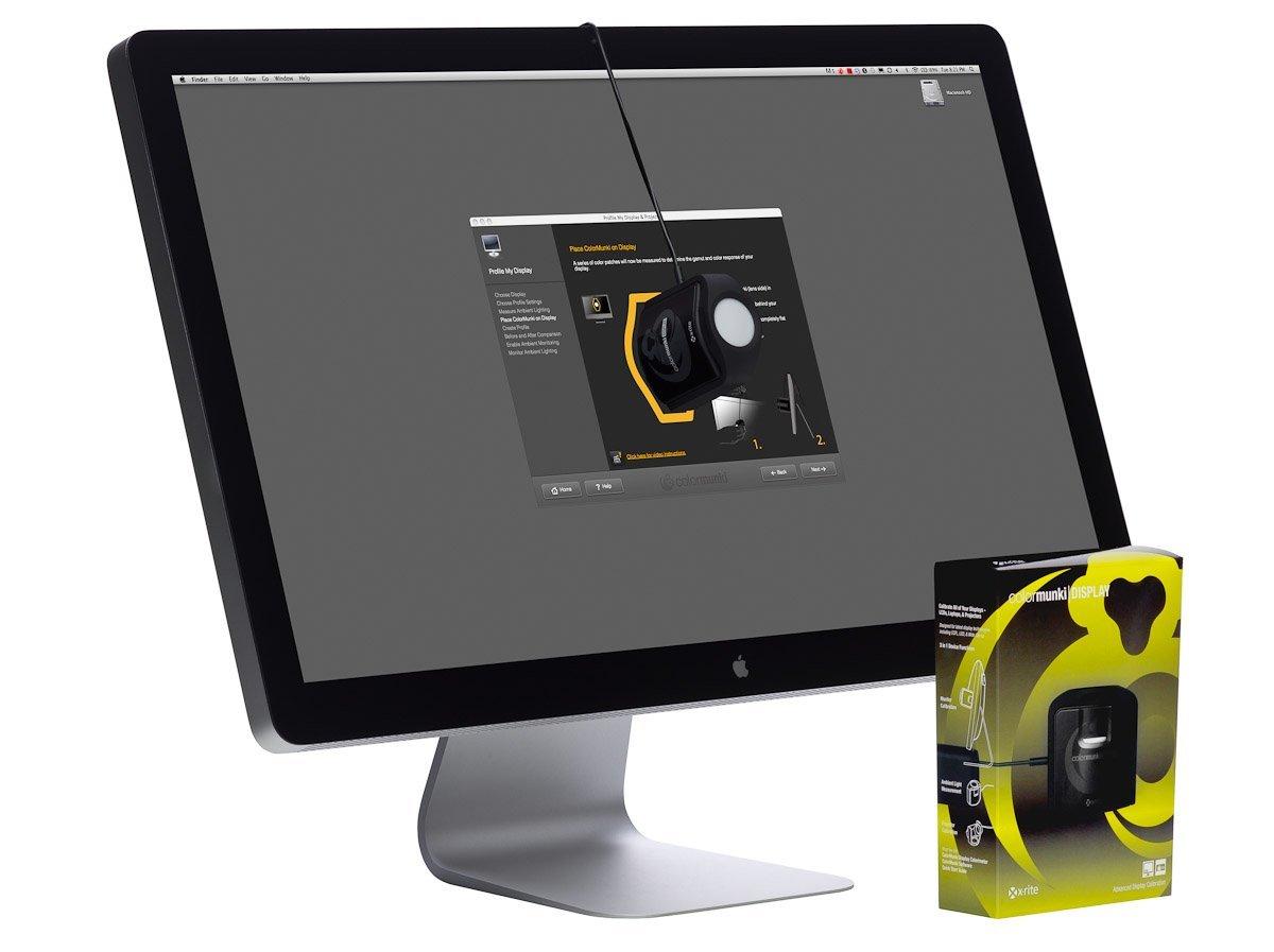 Sonde écran xrite macOSX-Sierra