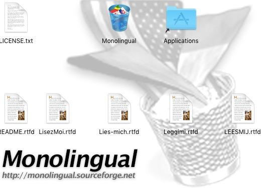 MacBookPro supprimer fichiers inutiles