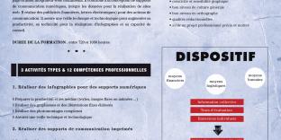 infographie affiche Titre Professionnel infographiste metteur page1