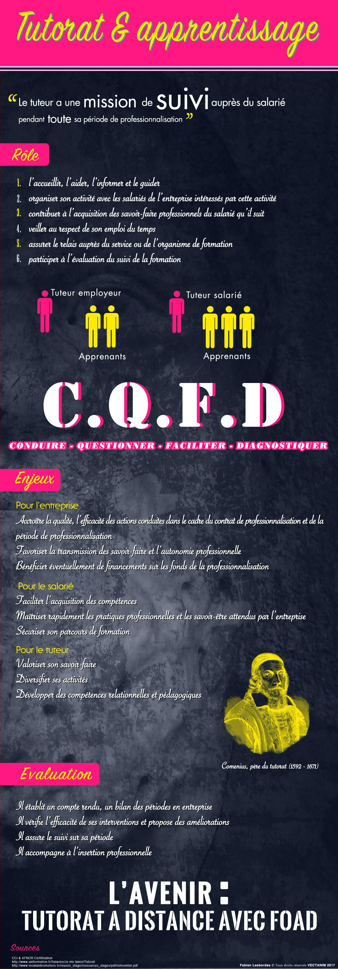 Infographie formation Le tutorat formationTPFPA