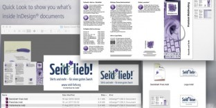 solution aperçu fichier indesign mac