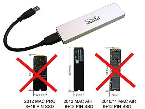 Boitier ssd MacBookAir 2012