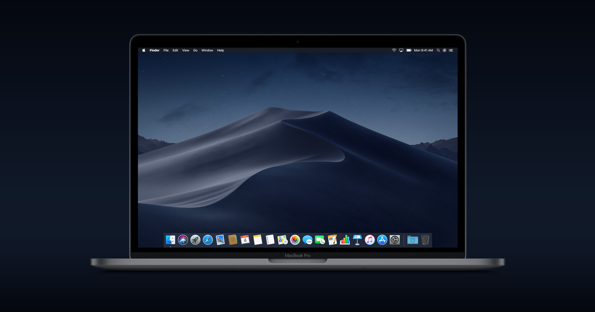 mac os X Mojave installation mise à jour