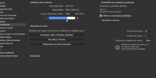 photoshop solution mac palette graphique stylet ralentissement