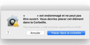 Solution comment réparer application corrompue mac