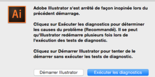 Illustrator CC crash démarrage mac solution