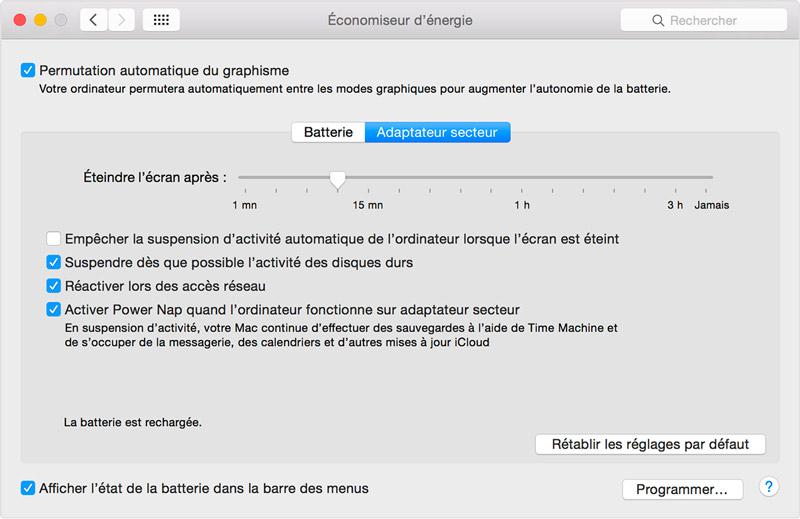 Solution macBook Pro lenteurs photoshop lag