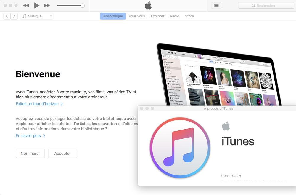 Comment installer ancienne version itunes mac solution