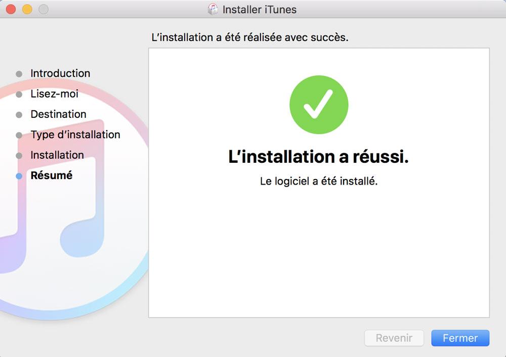 itunes 12.7 mac installation impossible