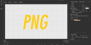 PHOTOSHOP enregistrer web meilleurs paramètres PNG
