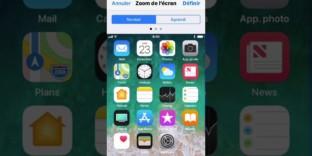iphone comment agrandir texte interface