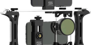 Armature rig film iphone vidéo
