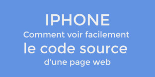 safari iphone solution code source page web