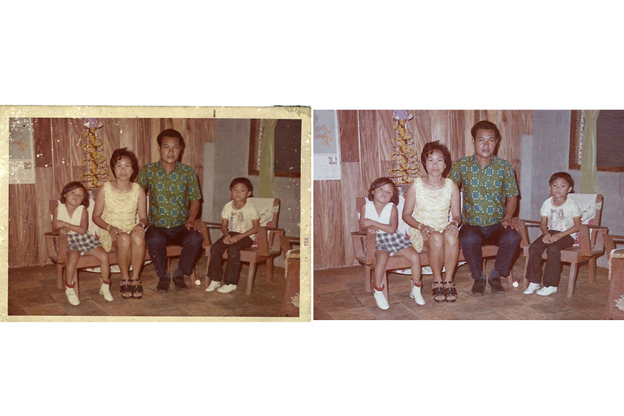 PHOTO FAMILLE COULEUR SERVICE REPARATION