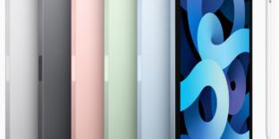 iPad-Air coloris disponibles Apple