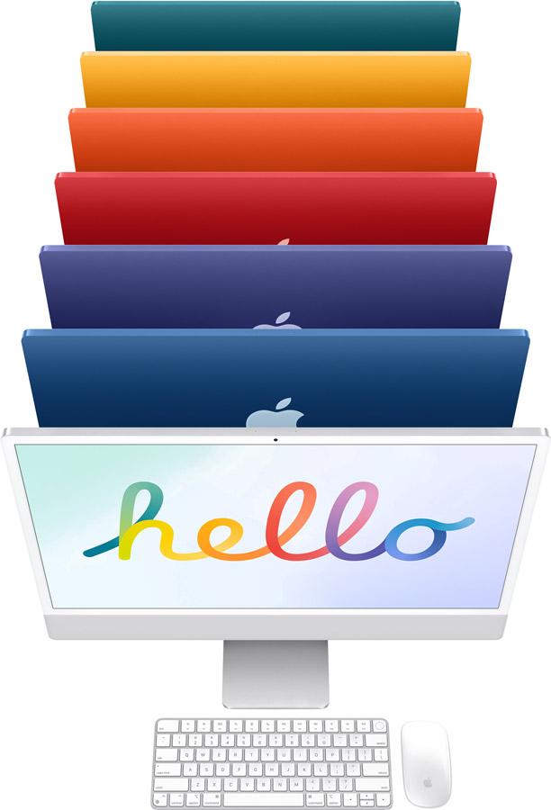 apple nouveaux coloris imac24