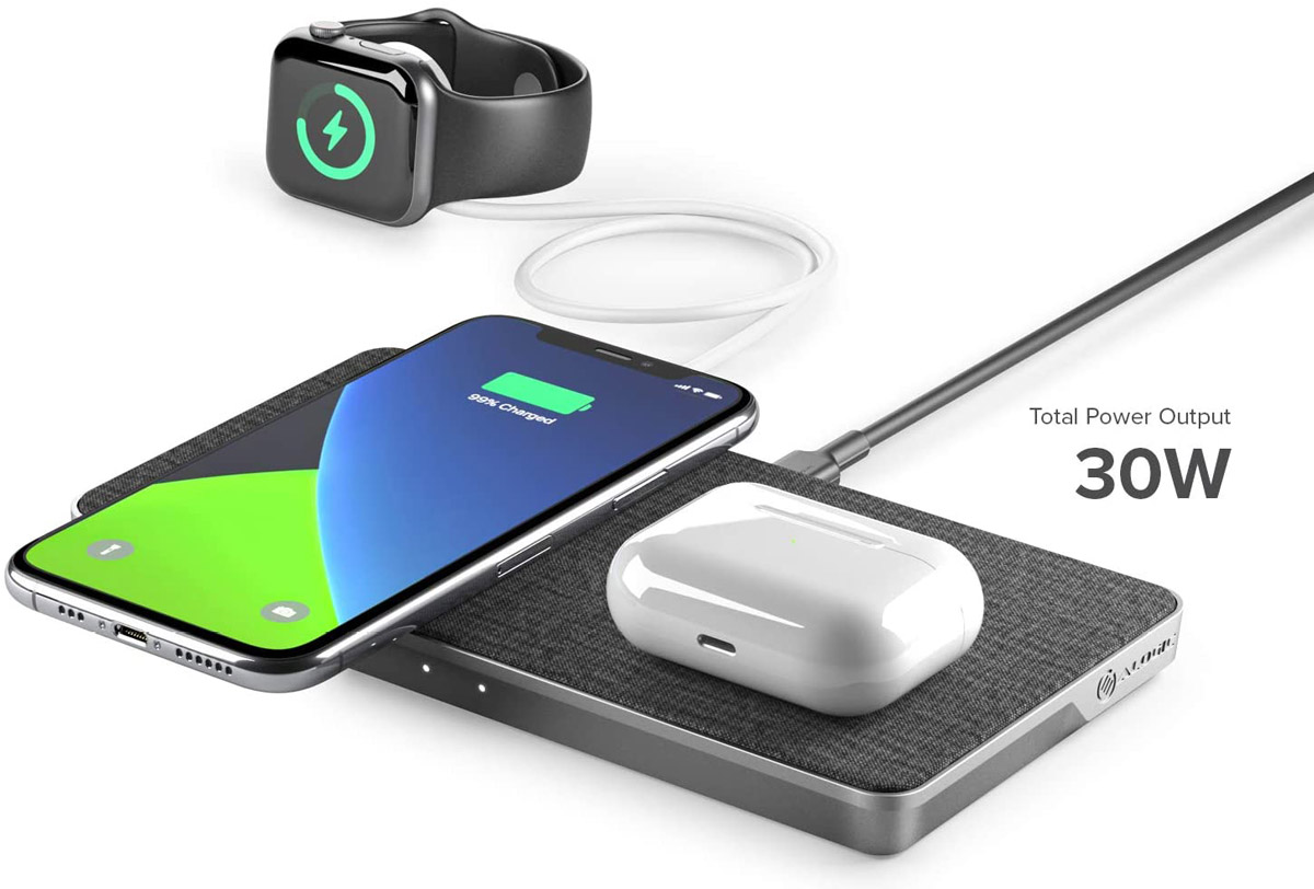 Chargeur générique airpods applewatch iphone