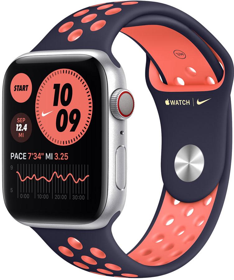 Edition Nike bleu orange apple watch6