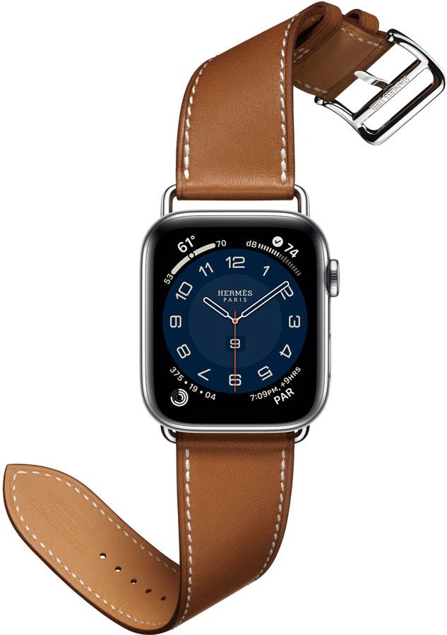 Montre nouveauté applewatch6 HERMES bracelet cuir