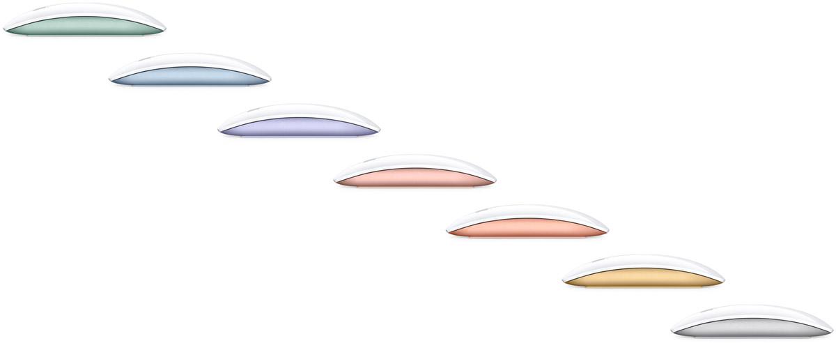 Nouvelle souris magicMouse couleur