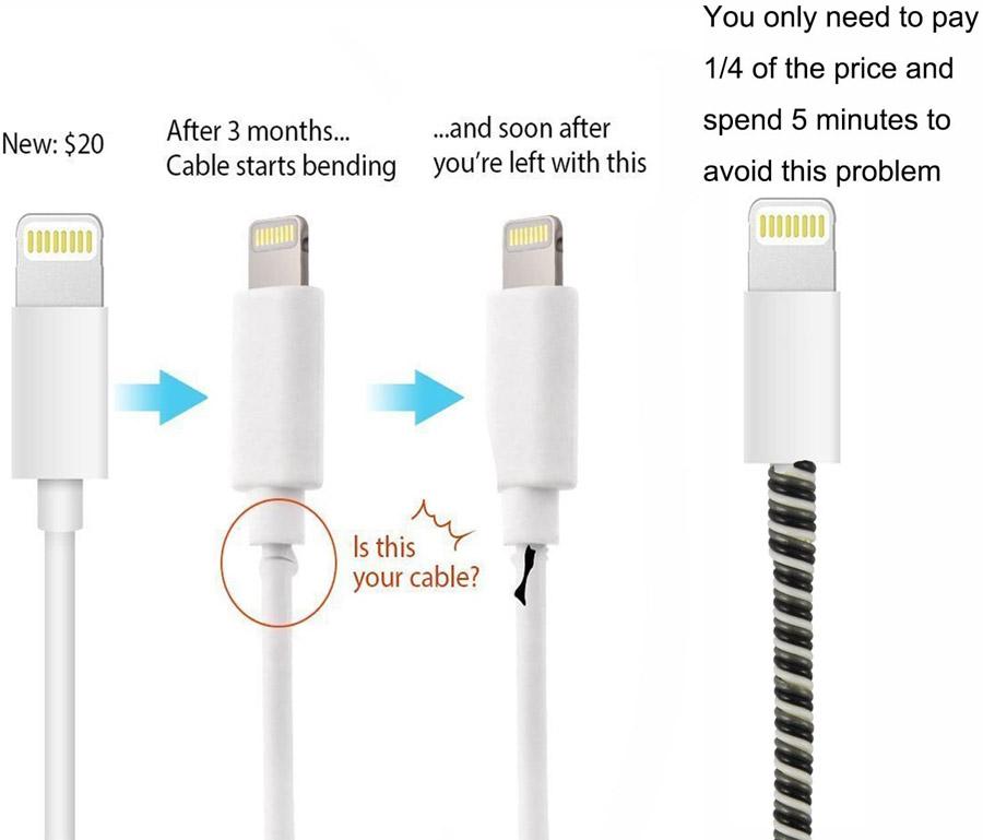 Solution réparer cordon chargeur macbook gaine