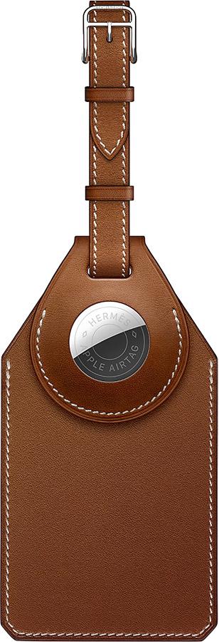 Accessoire bagage étui adresse cuir Apple AIRTAG