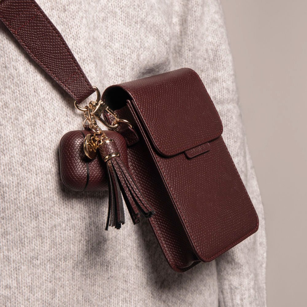 Accessoire sac cuir téléphone iphone12pro