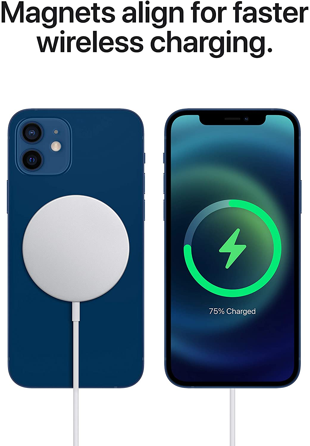 Chargeur magsafe iphone12 chargement rapide
