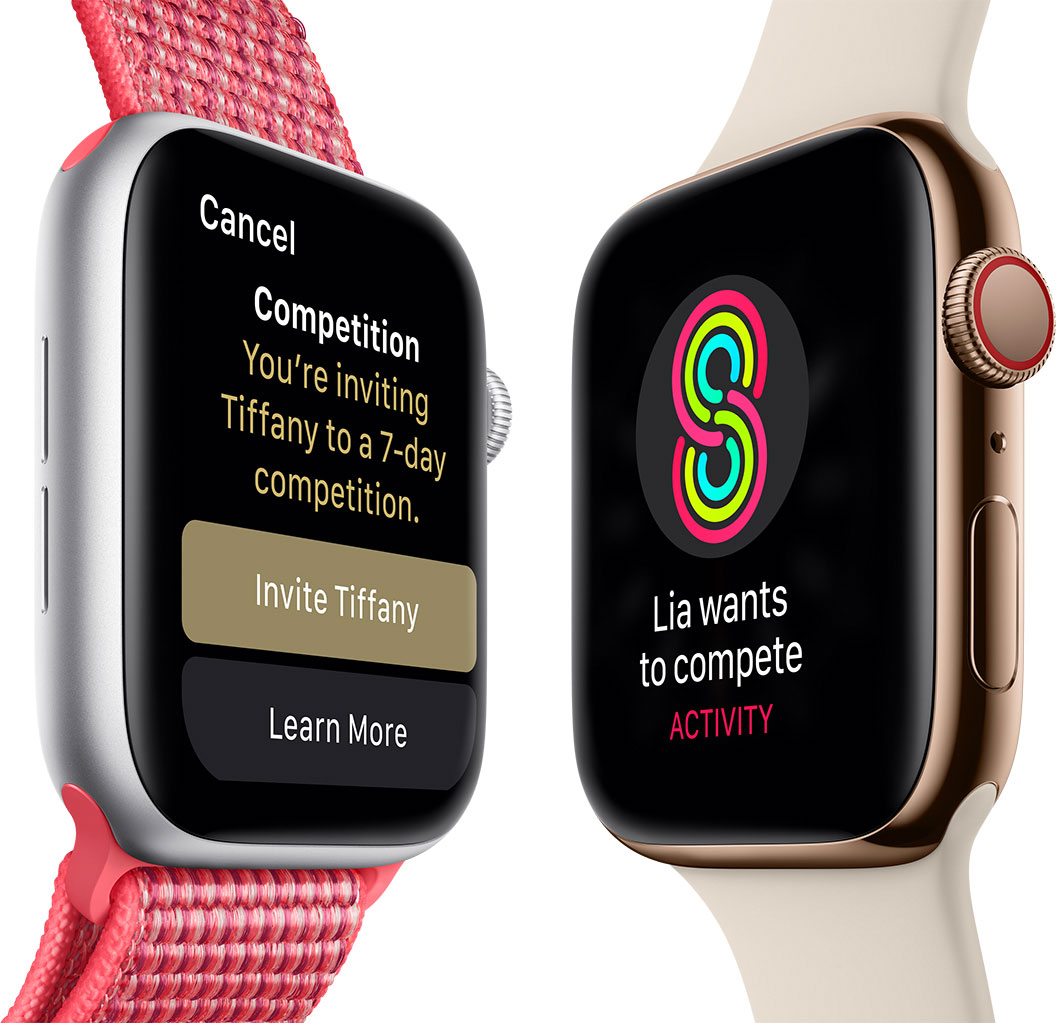 apple watch series4 entrainement sportif