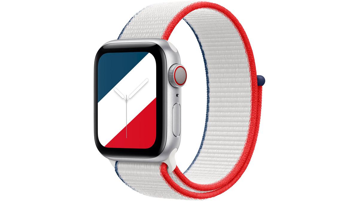 Bracelet applewatch aux couleurs de la France