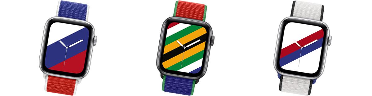 Bracelets applewatch jeux olympiques