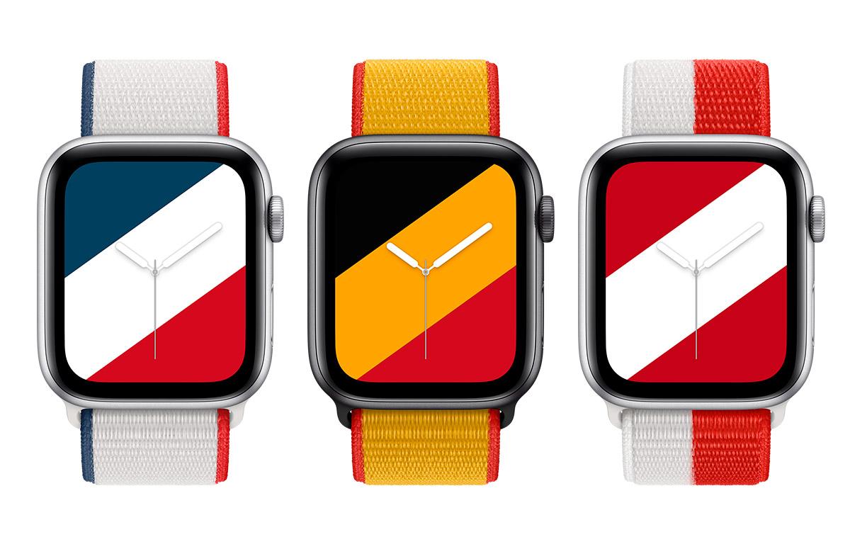 Francophones : nouvelles montres applewatch France
