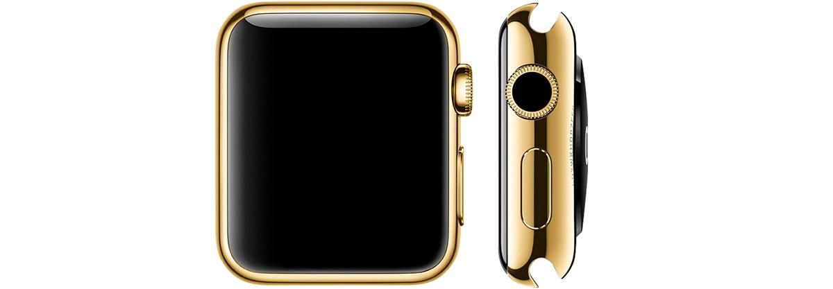 Montre apple-watch série or