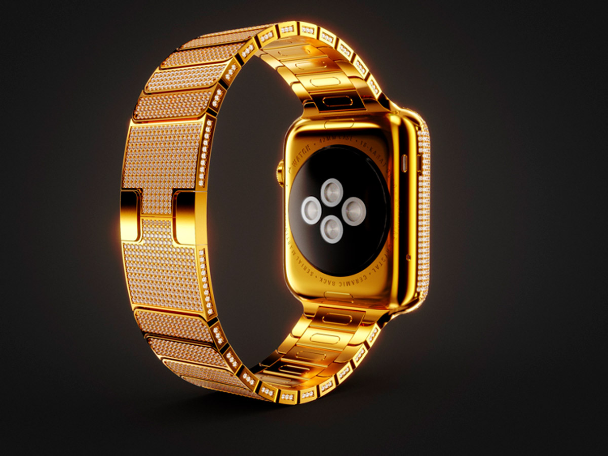 Montre édition luxe applewatch
