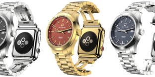 Montre hybride luxe applewatch