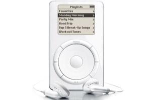 2001 succès mondial de l'iPod