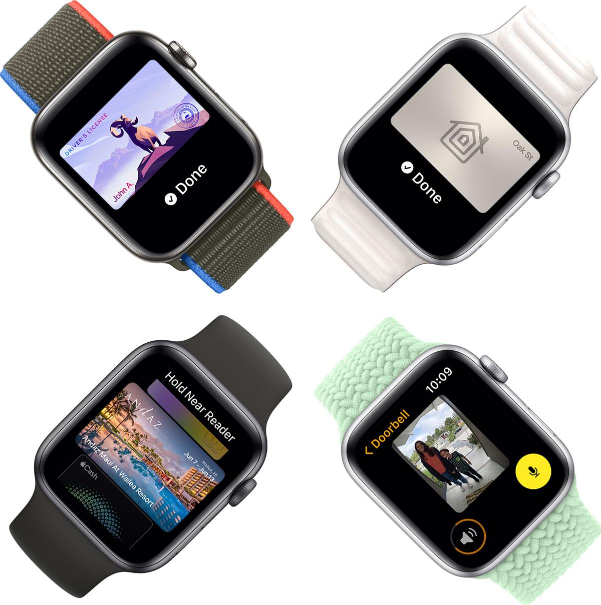 Technologie watchos8 nouveautés applewatch