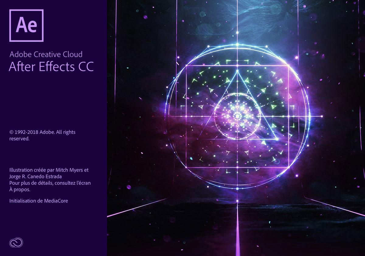 TÉLÉCHARGEMENT aftereffects CC2018 windows mac