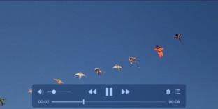 lecteur videos compaticle touchbar